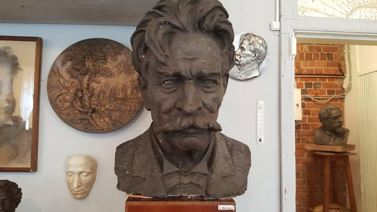 Дом-мастерская Н. В. Дыдыкина (Палех)