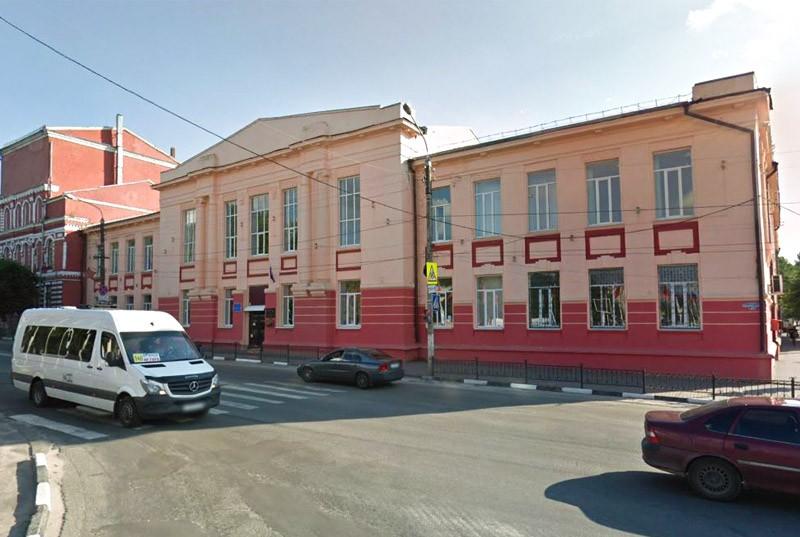 Здание бывшей мужской гимназии (Клинцы)