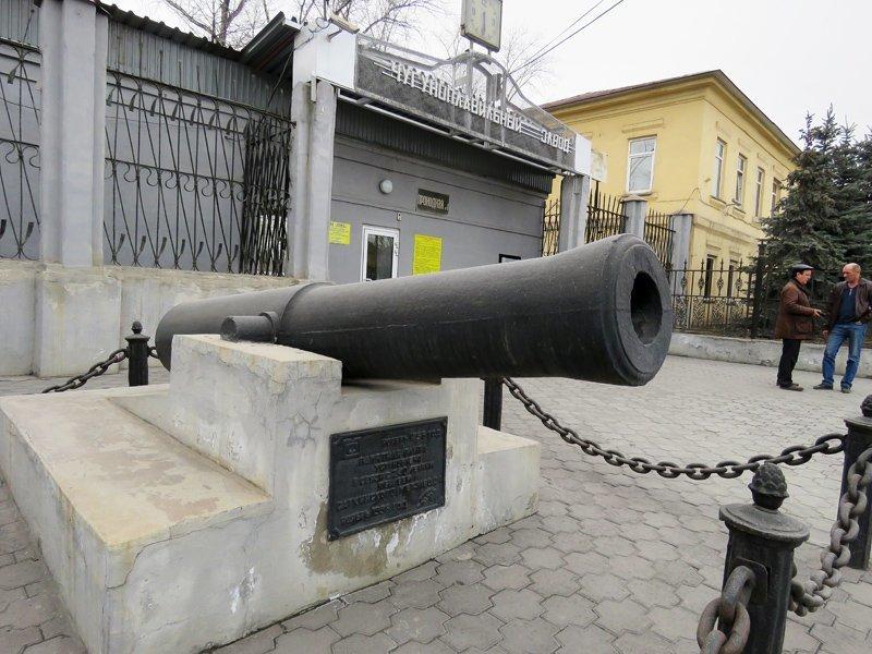 Пушка демидовская (Сатка)
