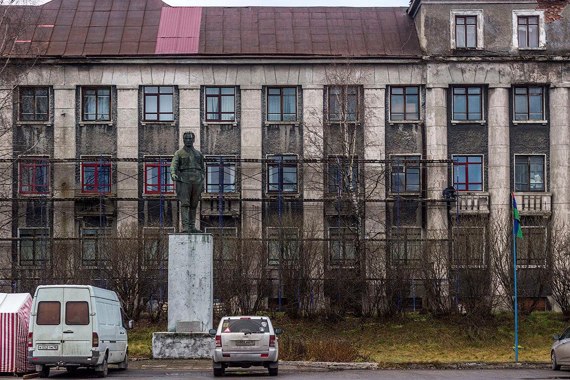 Памятник С. М. Кирову (Медвежьегорск)