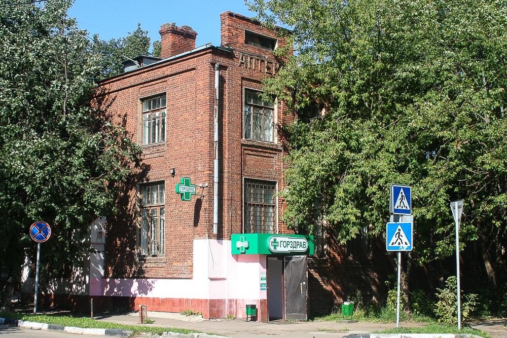 Здание глуховской фабричной поликлиники (Ногинск)