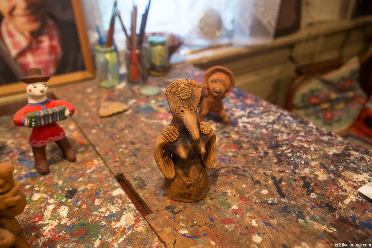 Дом-музей семьи Шевелевых и глиняной игрушки (Каргополь)