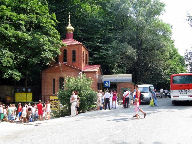 Святые источники Неберджаевской долины (Краснодарский край)