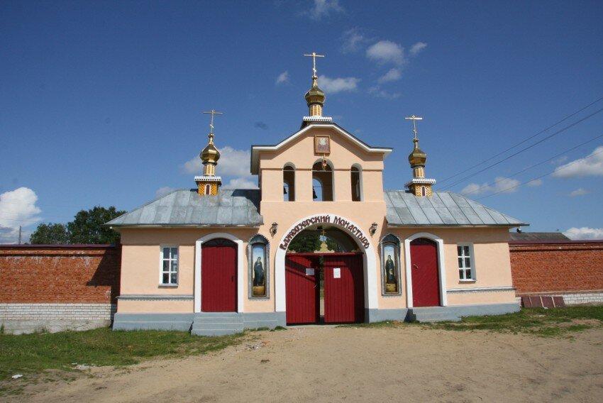 Важеозерский мужской монастырь (Олонец)