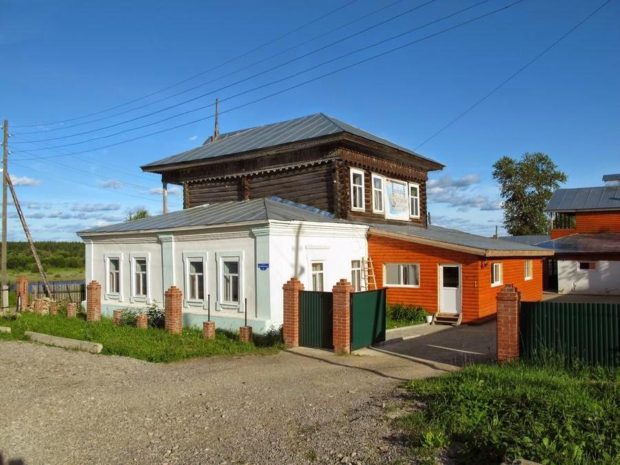 Гостиница «Старая пристань» (Чердынь)