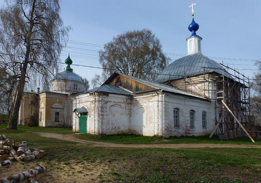 Храмовый комплекс Церкви Воскресения и Рождества Богородицы (Нея)