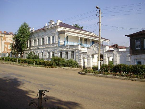 Родовой дом братьев Комаровых (Кукмор)