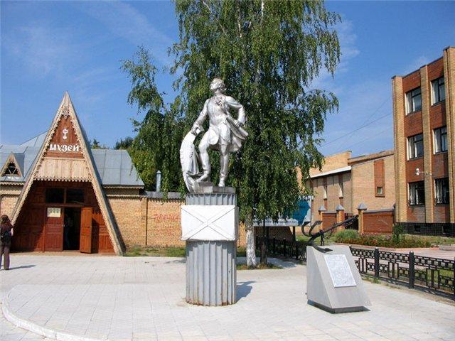 Памятник Петру I (Луховицы)