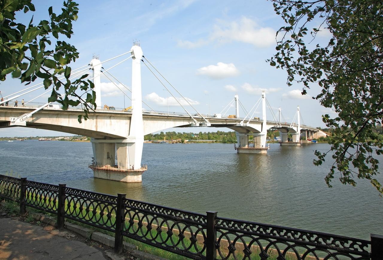 Мост через Волгу (Кимры)