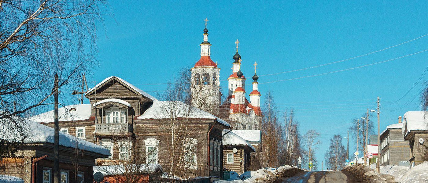 Бывший Тотемский кремль (Тотьма)