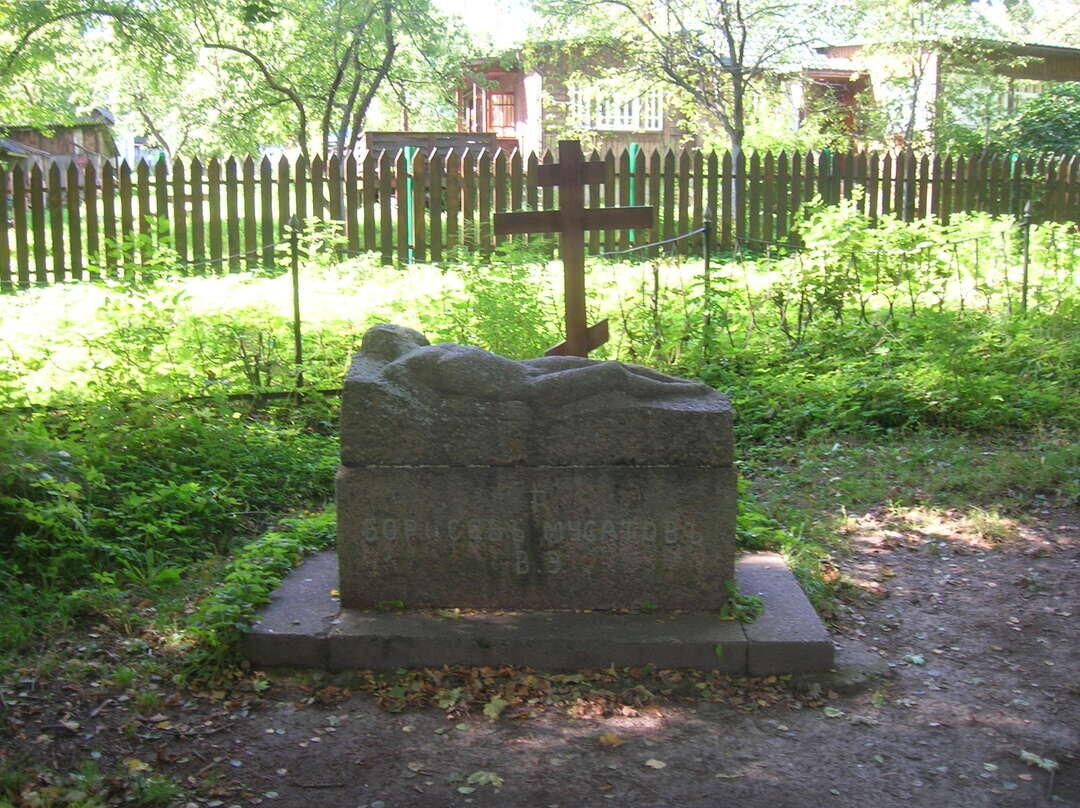 Памятник на могиле В. Э. Борисова-Мусатова (Таруса)