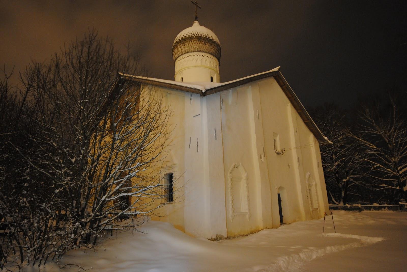 Благовещенская церковь в Аркажах (Великий Новгород)