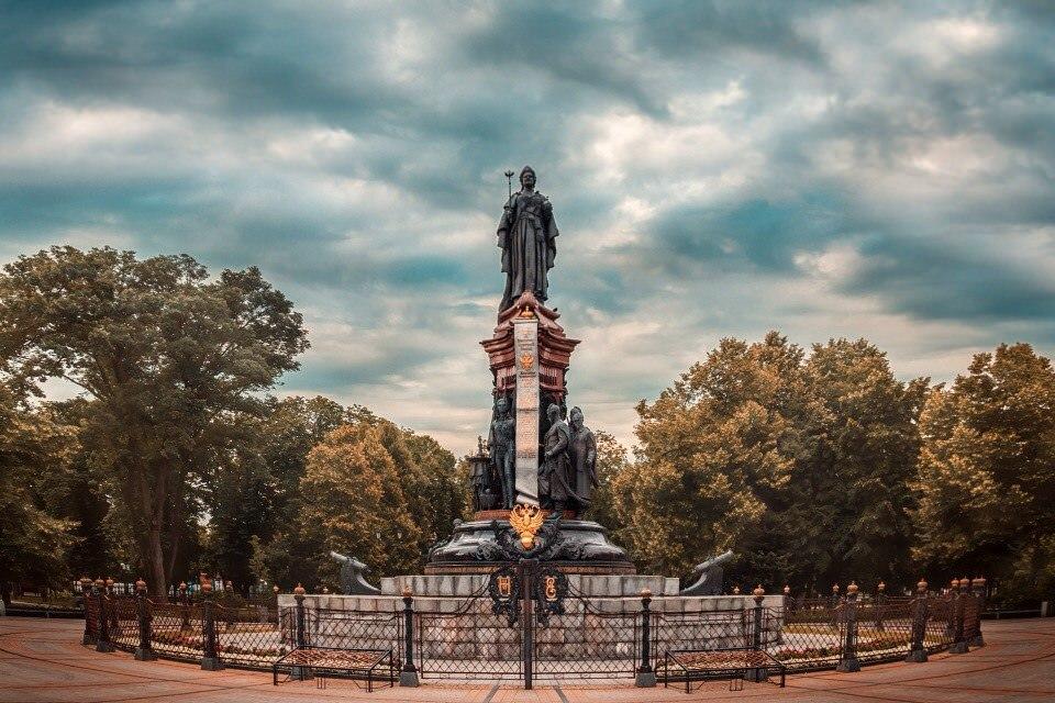 Памятник Екатерине Второй (Краснодар)