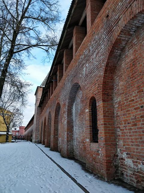 Смоленская крепостная стена (Смоленский кремль) (Смоленск)