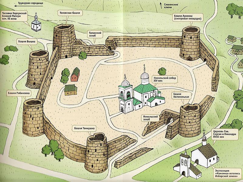 Гдовская крепость (Гдов)