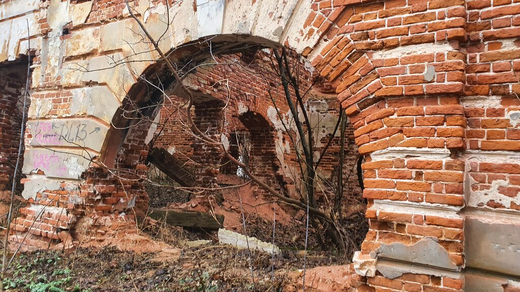Руины усадьбы «Зендиково» (Кашира)