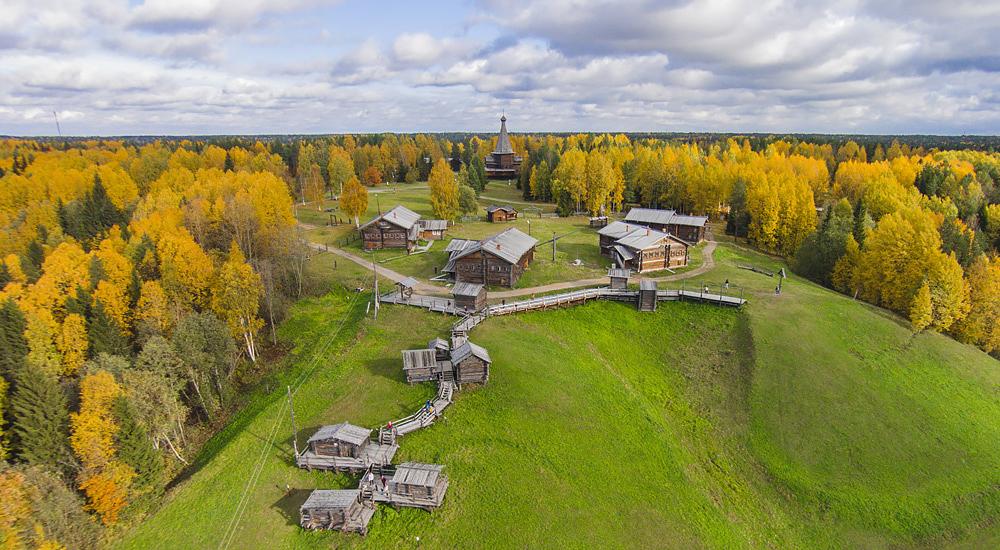 Музей деревянного зодчества «Малые Корелы» (Архангельская область)