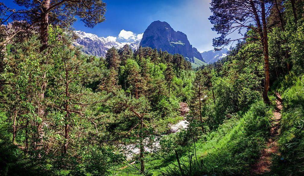 Цейское ущелье (Северная Осетия)