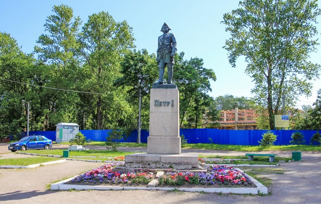 Памятник Петру I (Шлиссельбург)