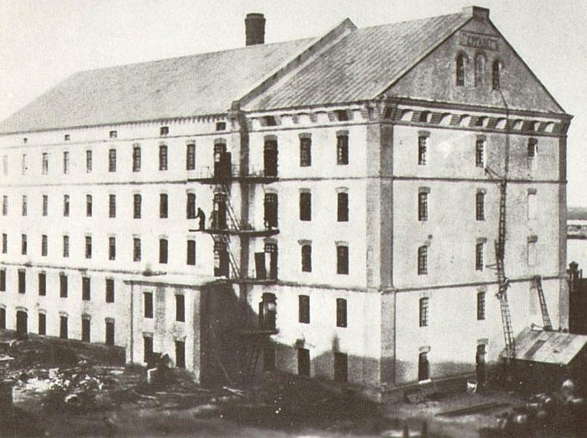 Руины старой мельницы Гергардта (Волгоград)