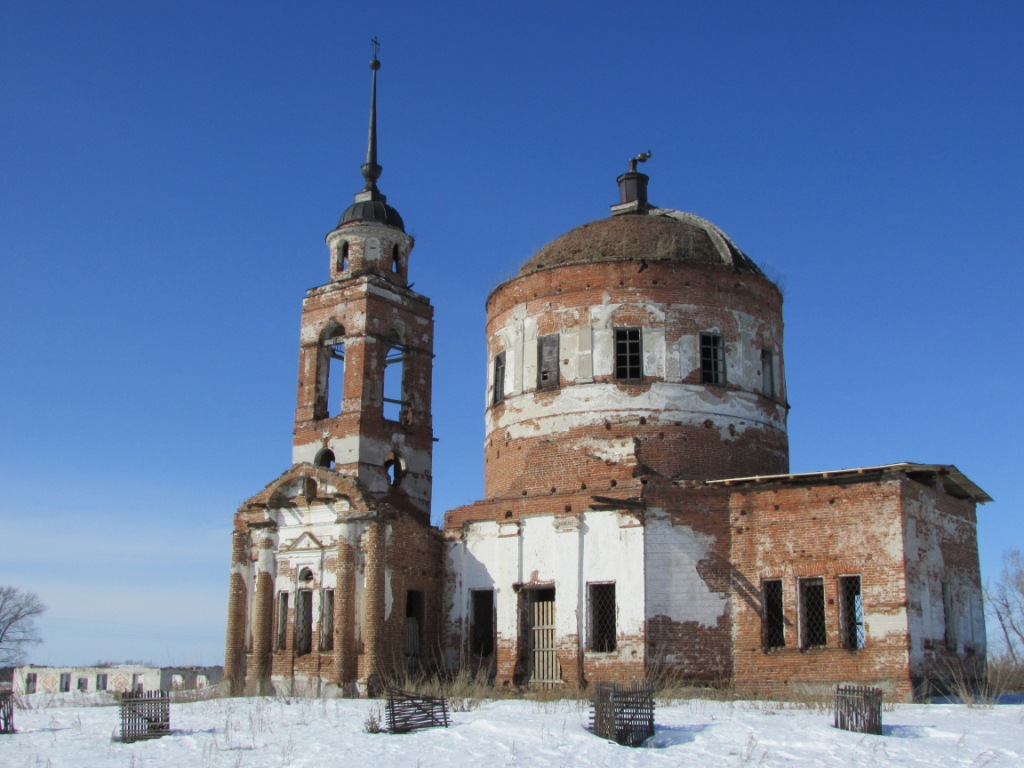 Церковь иконы Божией Матери «Знамение» (Замараевское) (Шадринск)