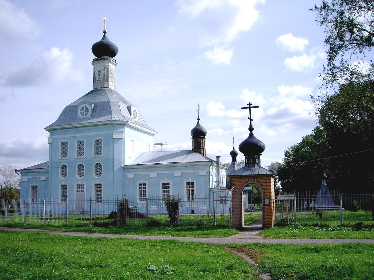 Христорождественская церковь в Мочилах (Серебряные Пруды)