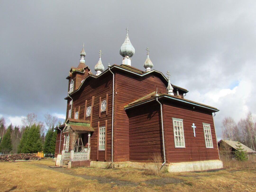 Церковь Ильи Пророка (Екатеринкино) (Кадый)
