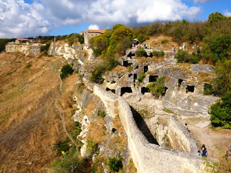 Пещерная крепость Чуфут-кале (Бахчисарай)