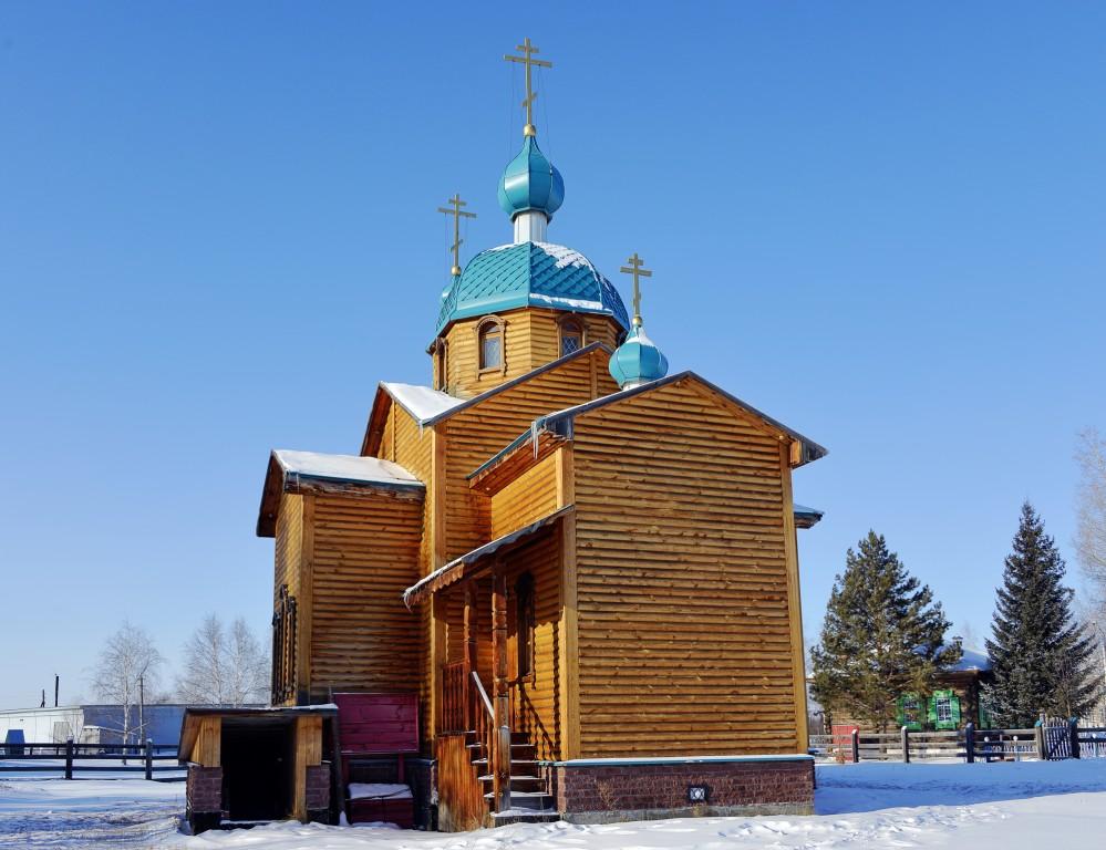 Церковь Святой Татианы в Новотырышкино (Белокуриха)