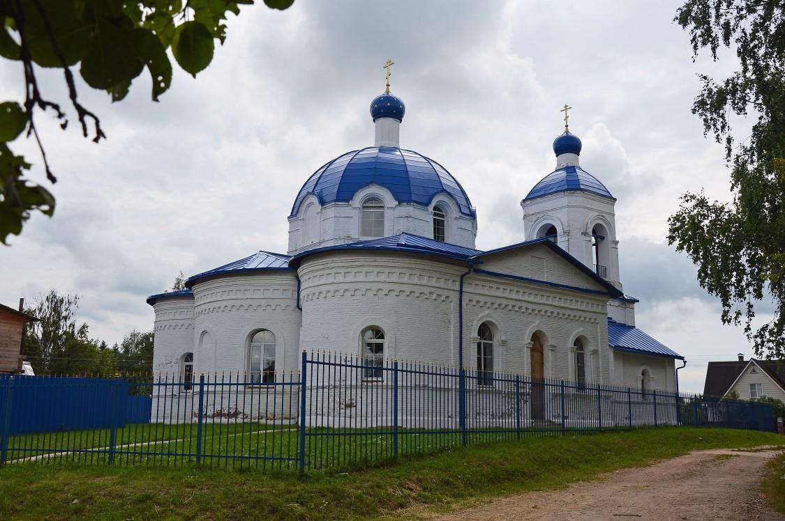 Церковь Рождества Пресвятой Богородицы (Бухолово) (Шаховская)