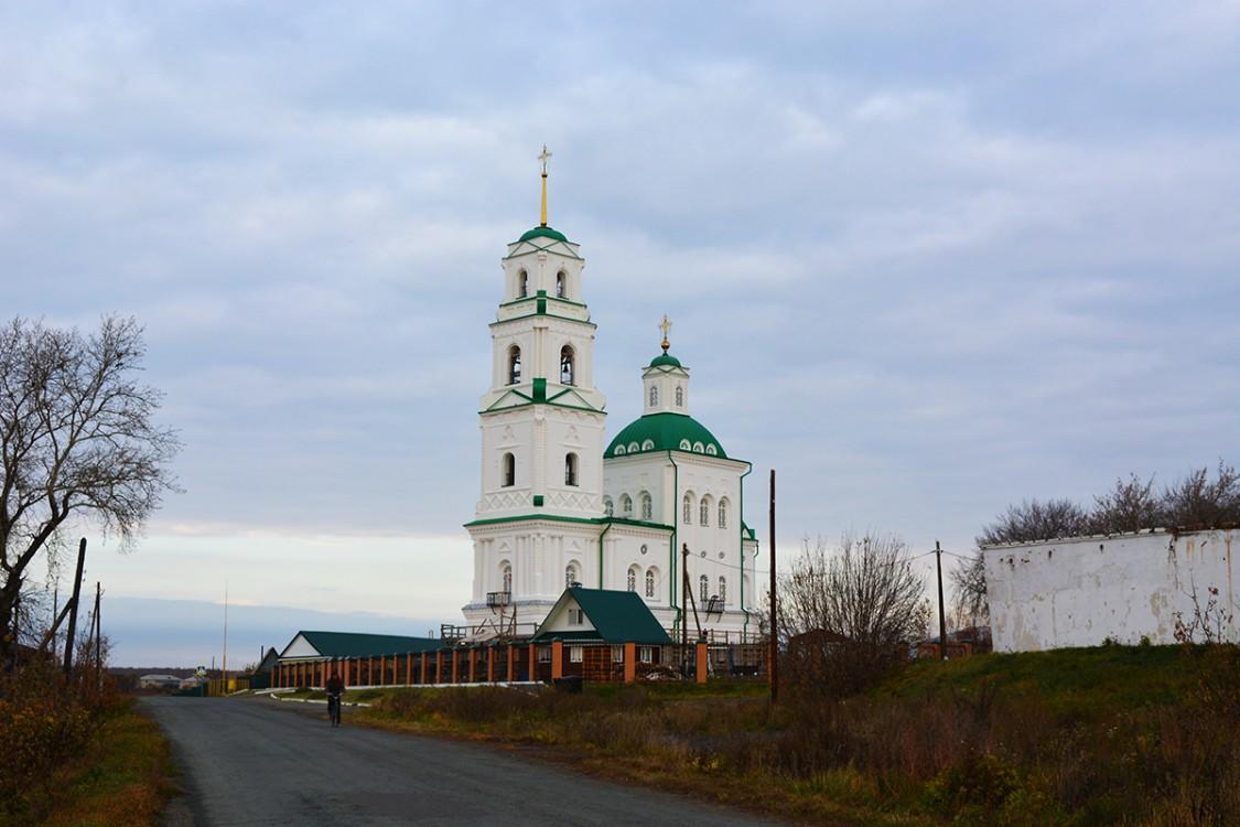 Церковь Спаса Преображения (Батурино) (Шадринск)