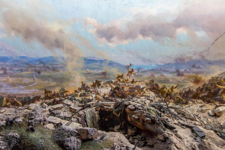 Диорама «Штурм Сапун-горы 7мая 1944 года» (Севастополь)