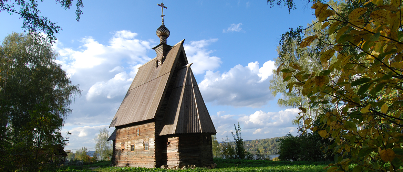Воскресенская деревянная церковь (Плёс)