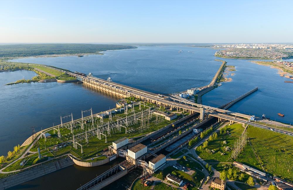 Нижнекамская ГЭС (Набережные Челны)