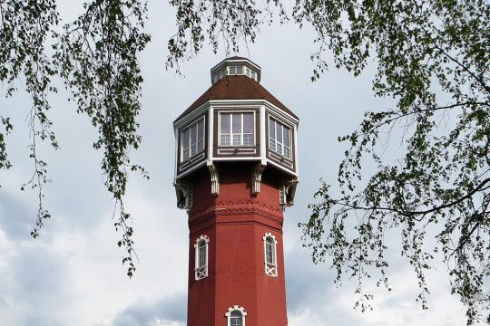 Старая пожарная каланча (водонапорная башня) (Ногинск)
