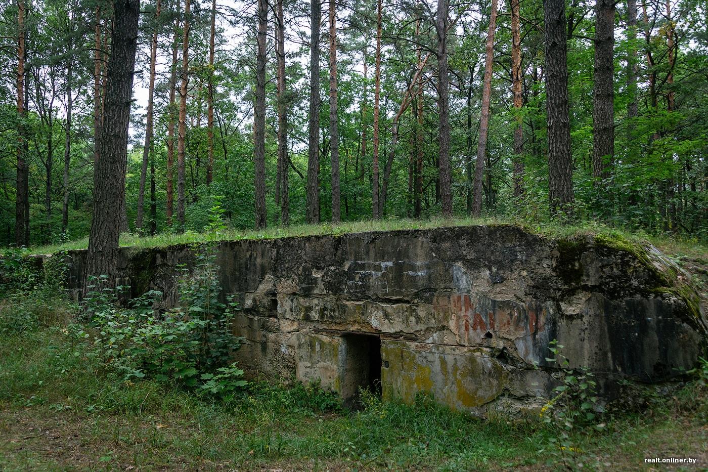 Немецкий бункер времен Первой мировой в Поречье (Пинск)