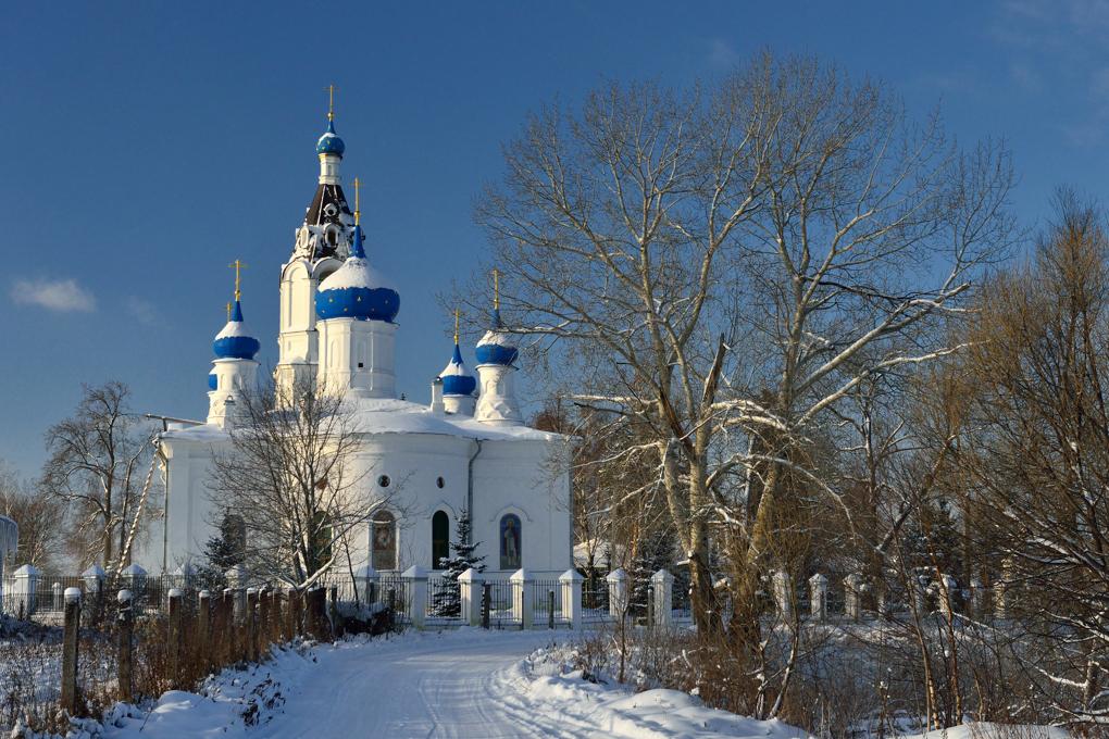 Церковь Казанской иконы Божией Матери в Казанском (Павловский Посад)