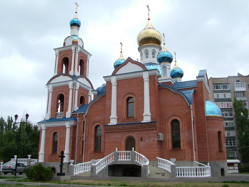 Полковой храм Азовской иконы Божьей матери (Азов)