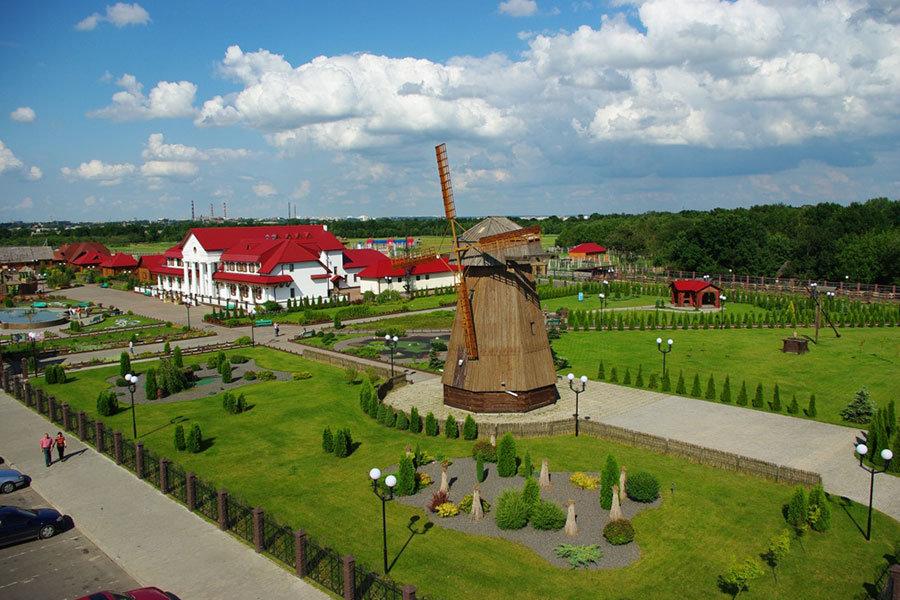 Этнографический комплекс «Белорусская деревня» (Могилёв)