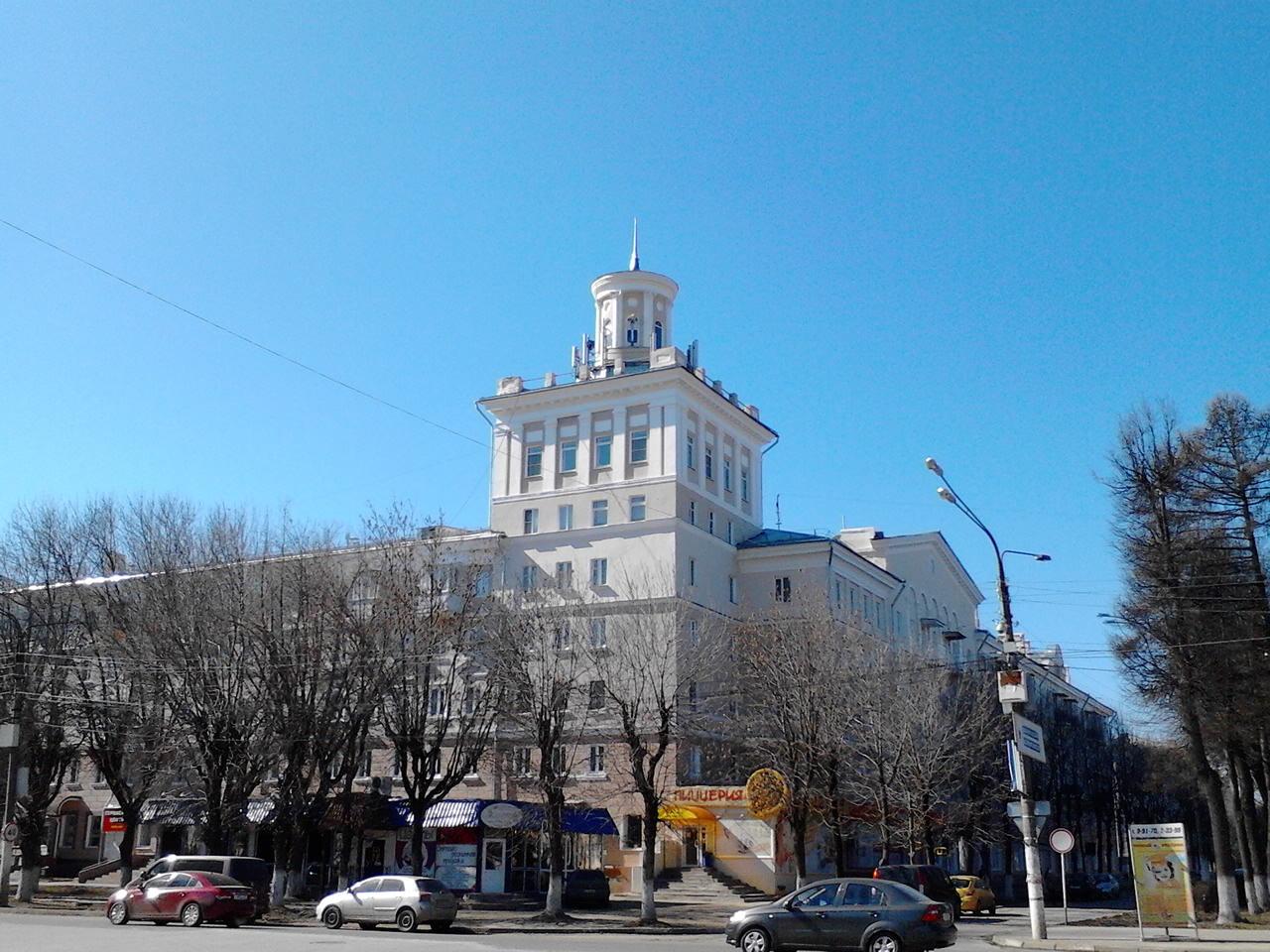 Сталинская высотка «Вышка» (Новомосковск)