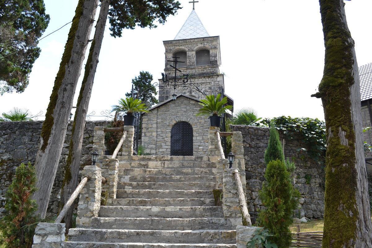 Каманский монастырь святителя Иоанна Златоуста (Абхазия)