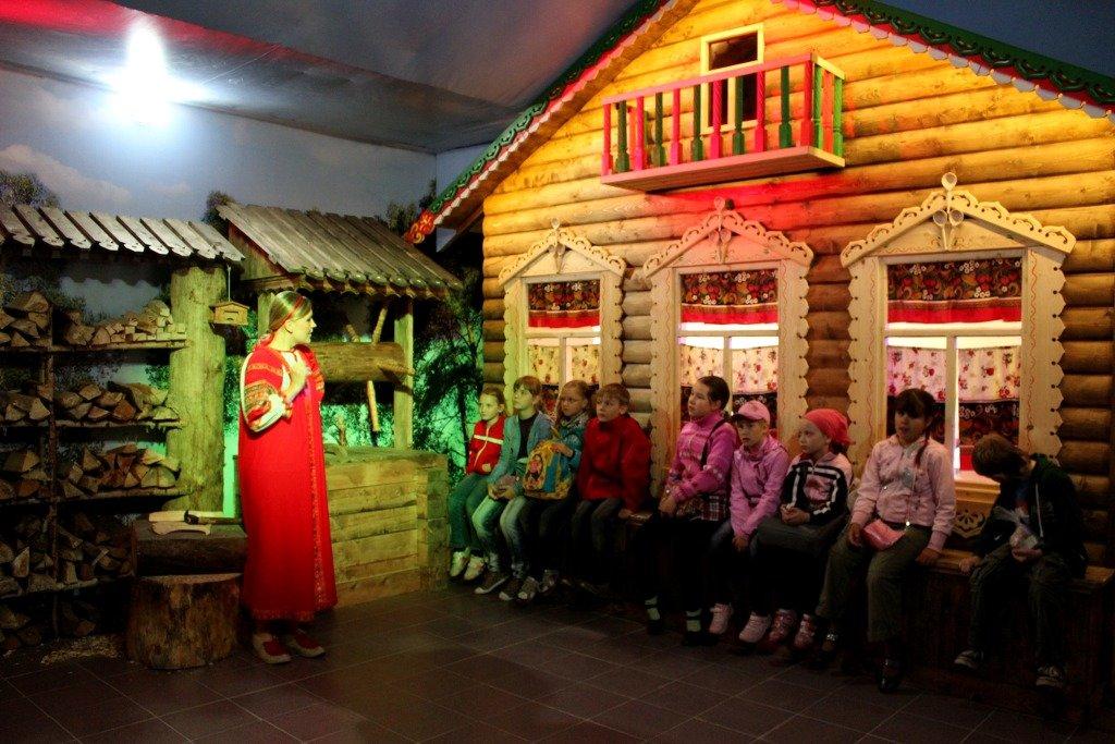 Музей баклуши в Семибратово (Ярославская область)