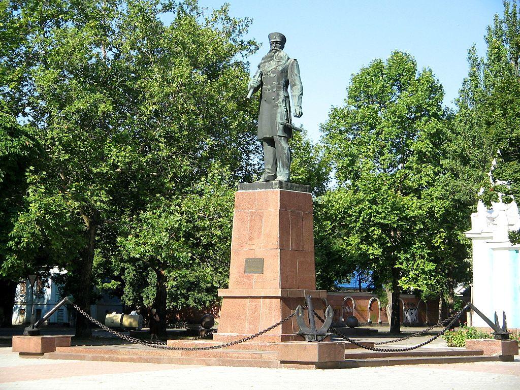 Памятник адмиралу Макарову (Николаев)