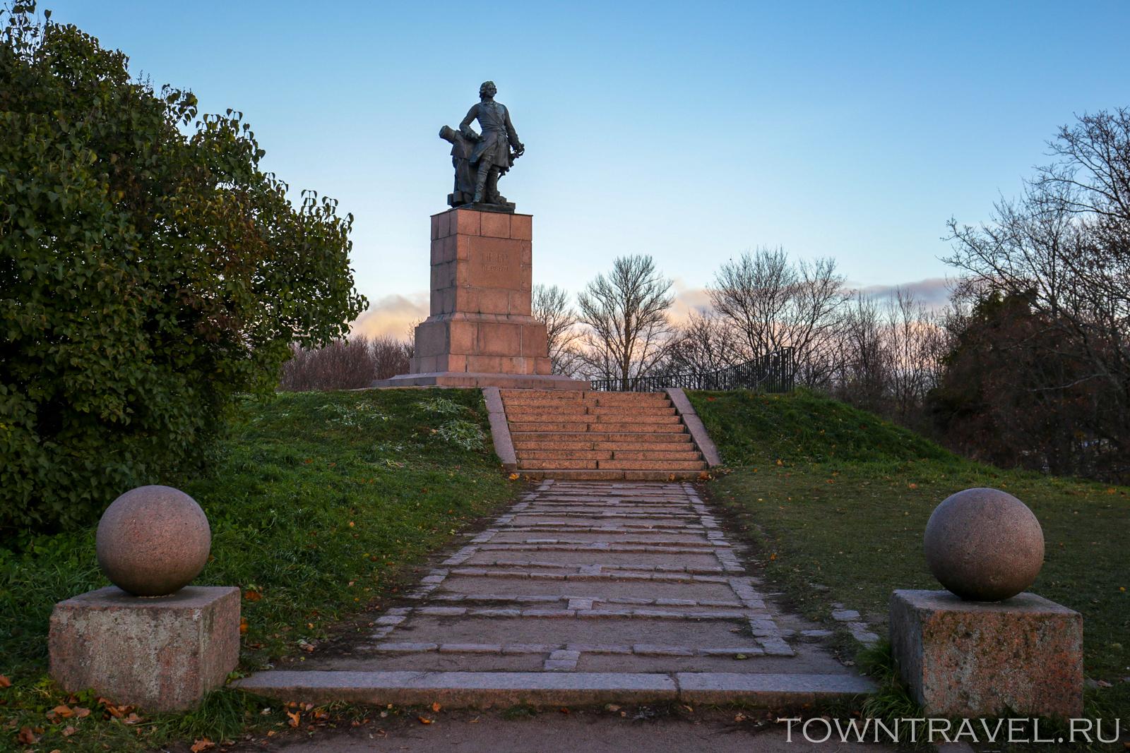 Памятник Петру I (Выборг)