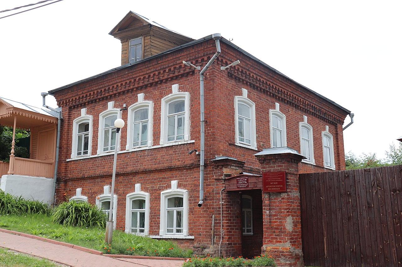Музей архитекторов Весниных (Юрьевец)