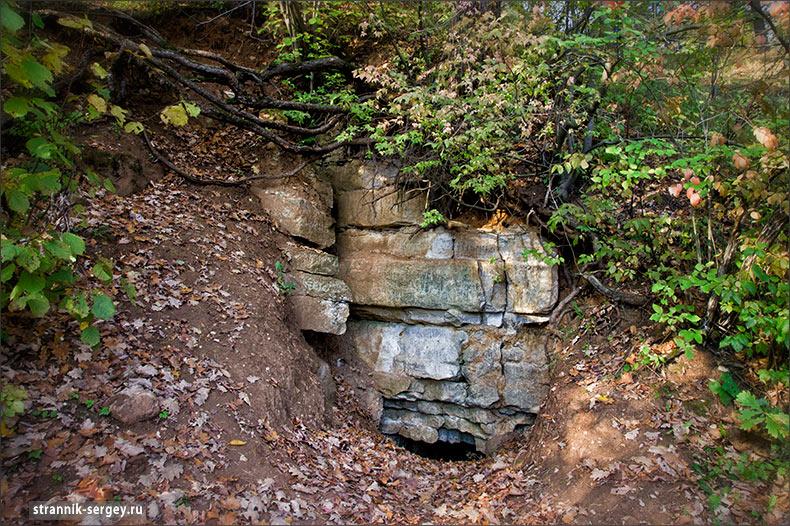 Пещеры разбойника Улая (Заокский)