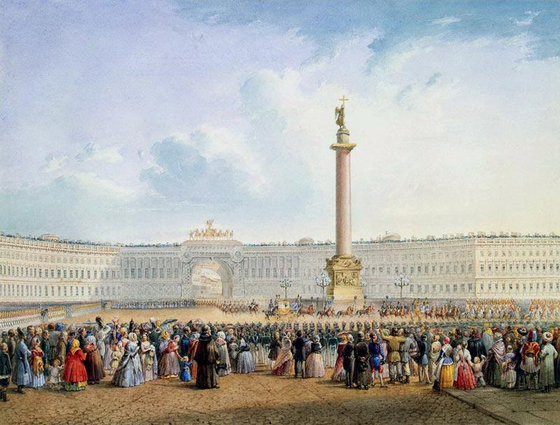 Александровская колонна (памятник Александру I) (Санкт-Петербург)