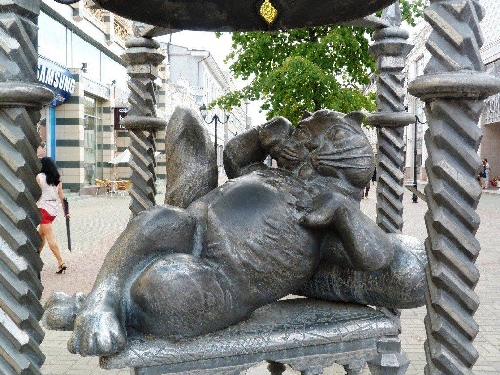 Памятник казанскому коту (Казань)