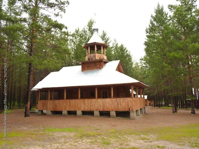 Церковь на Монастырском озере (Енисейск)