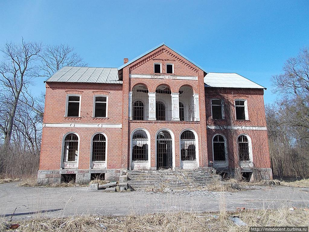 Руины замка Гросс Вонсдорф (Калининградская область)
